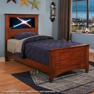 LightHeaded Beds Canterbury Chesnut Twin Bed by Lifetime