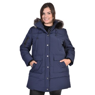 Women's Plus Size Down Coat (3 options available)