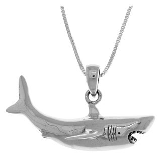 Carolina Glamour Collection Sterling Silver Great White Shark