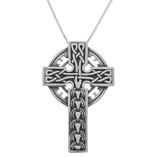 Carolina Glamour Collection Sterling Silver Large Celtic Cross