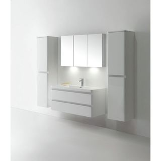 Eviva Glazzy 48-inch Vanity Wall Mount Single Sink