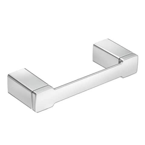 Moen 90-degree Chrome Toilet Paper Holder YB8808CH