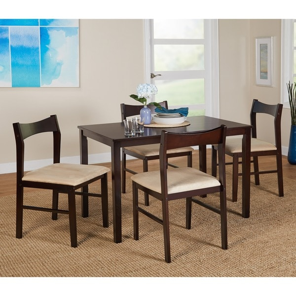 Good Simple Living 5 Piece Transitional Dining Set