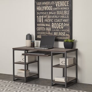 Barnside Metro Pedestal Desk by Home Styles