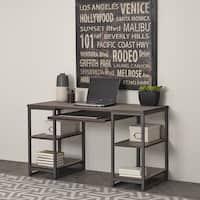 Barnside Metro Pedestal Desk by Home Styles