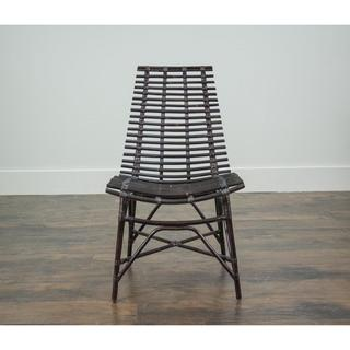 Carson Modern Black Washed Chair