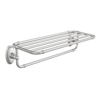 moen kingsley brushed nickel towel rack - Moen Towel Bars