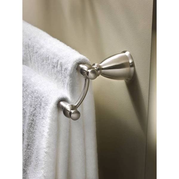 Moen Caldwell Brushed Nickel Towel Bar Y3122bn Free Shipping Today 17681446