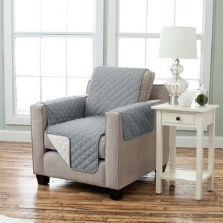 Home Fashion Designs Kaylee Collection Quilted Reversible Chair Protector (4 options available)