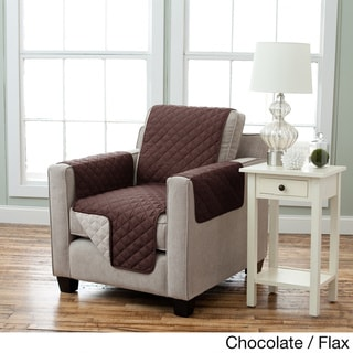 Home Fashion Designs Kaylee Collection Quilted Reversible Chair Protector