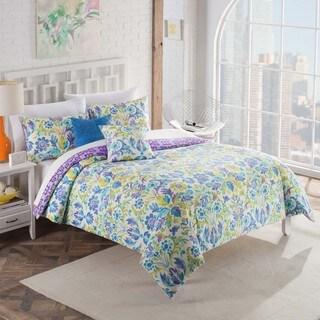 Vue Talulah Reversible 5-piece Cotton Comforter Set