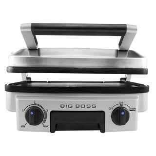 Big Boss Stainless Steel Reversible Grill