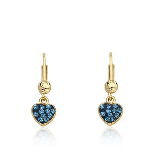 Molly Glitz 'Heart Of Jewels' 14k Goldplated and Enamel Crystal Heart Earrings|https://ak1.ostkcdn.com/images/products/10610080/P17681547.jpg?impolicy=medium