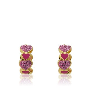 Molly Glitz Heart of Jewels Earrings