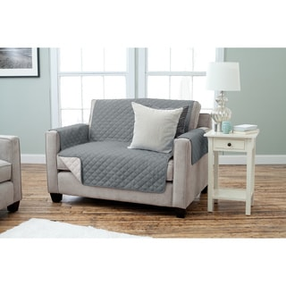Kaylee Collection Quilted Reversible Loveseat Protector