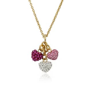 Molly Glitz Tea For Two 14k Goldplated Lavender Enamel Hearts On Purple Crystal Trimmed Tea Cup Pendant Necklace|https://ak1.ostkcdn.com/images/products/10610123/P17681583.jpg?impolicy=medium