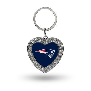 NFL New England Patriots Heart Key Chain