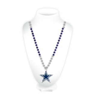NFL Dallas Cowboys Sports Beads with Medallion