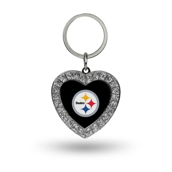 NFL Pittsburgh Steelers Heart Key Chain
