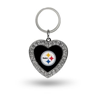 NFL Pittsburgh Steelers Heart Key Chain
