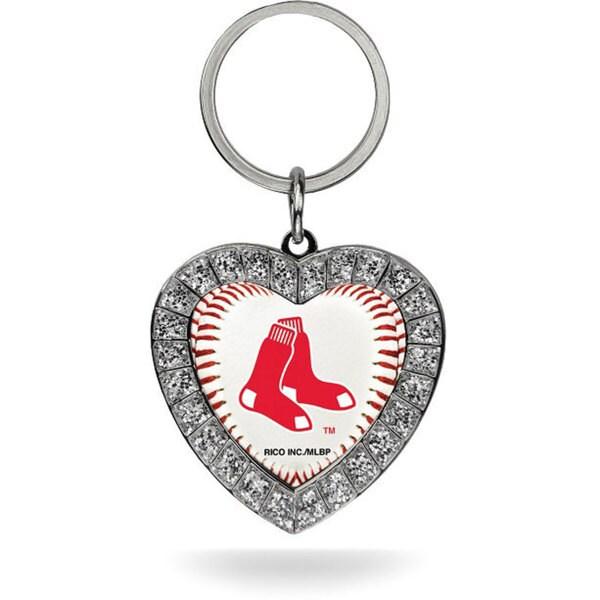 MLB Boston Red Sox Heart Key Chain
