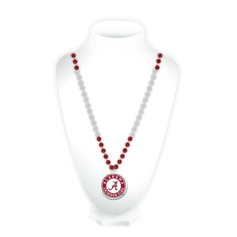 NCAA Alabama Crimson Tide Sports Beads with Medallion