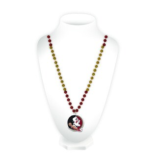 NCAA Florida State Seminoles Sports Beads with Medallion