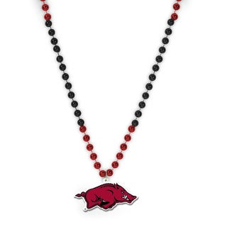 NCAA Arkansas Razorbacks Sports Beads with Medallion