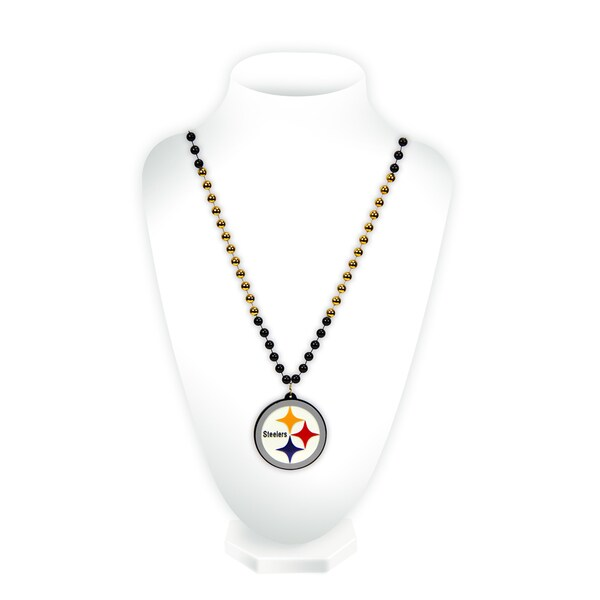 NFL Pittsburgh Steelers Sports Beads with Medallion