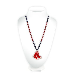 MLB Boston Red Sox Sports Beads with Medallion