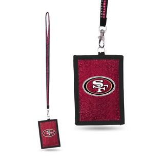 NFL San Francisco 49ers Lanyard Wallet