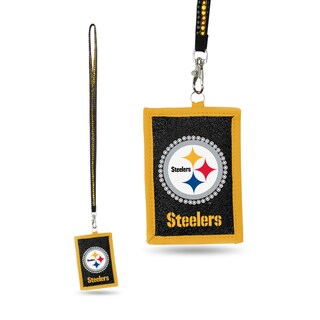NFL Pittsburgh Steelers Lanyard Wallet