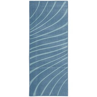 Nourison Accent Decor Dark Blue Accent Rug (1'10 x 4'6)