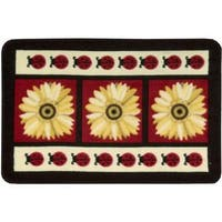 Nourison Accent Decor Red Accent Rug - 1'8 x 2'8