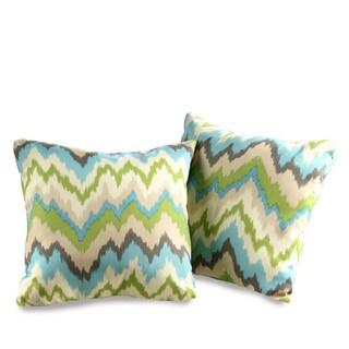 Ziggy Waverly Decorative Indoor/Outdoor Throw Pillows (Set of 2)