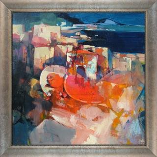Alex Bertaina 'La Bella Estate' Framed Fine Art Print