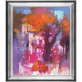 Alex Bertaina 'Caro Olmo' Framed Fine Art Print