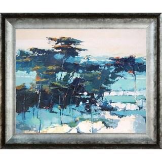 Alex Bertaina 'Pinede' Framed Fine Art Print
