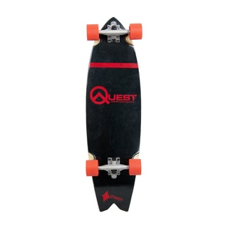 Quest The Stingray Red 34.5-inch Performance Cruizer Skateboard