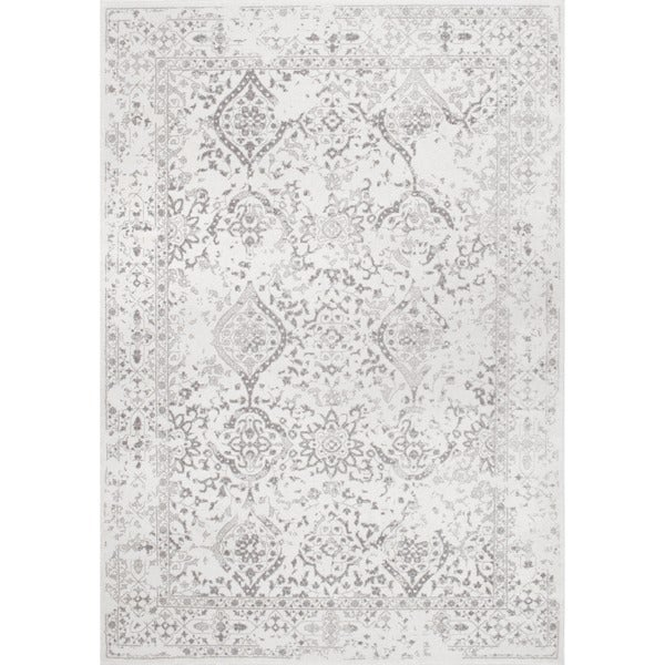 Nuloom Vintage Fl Ornament Ivory Area Rug 5 X 7 Free Shipping Today Com 17681881