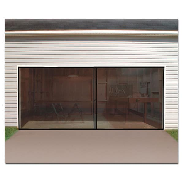 2 Car Garage Screen Enclosure Door Free Shipping On