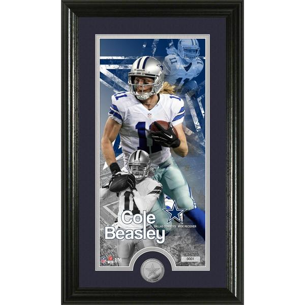 "Cole Beasley ""Supreme"" Minted Coin Panoramic Photo Mint"