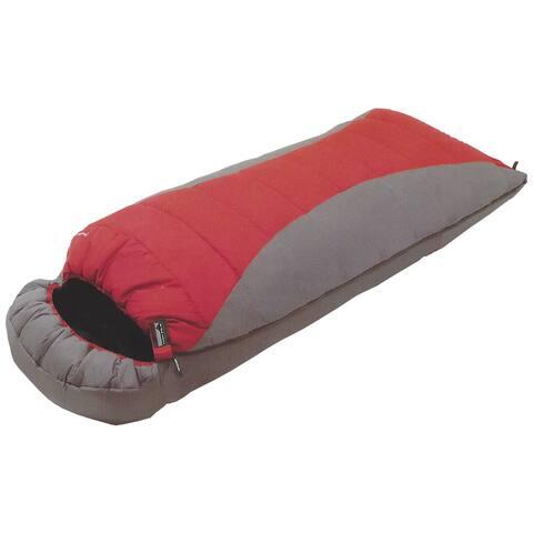 High Peak Outdoors Comfort Lite 20-degree Red Extra Long Sleeping Bag