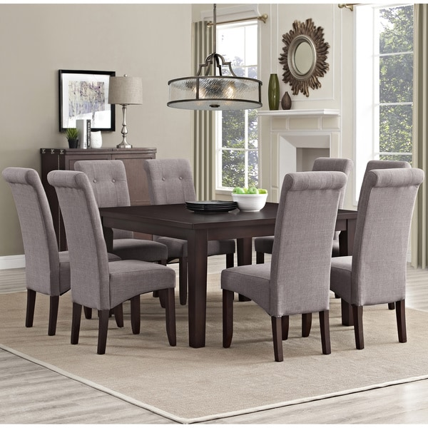 Attractive WYNDENHALL Essex 9 Piece Dining Set