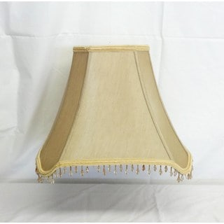 Square Cut-corner Beaded Shade