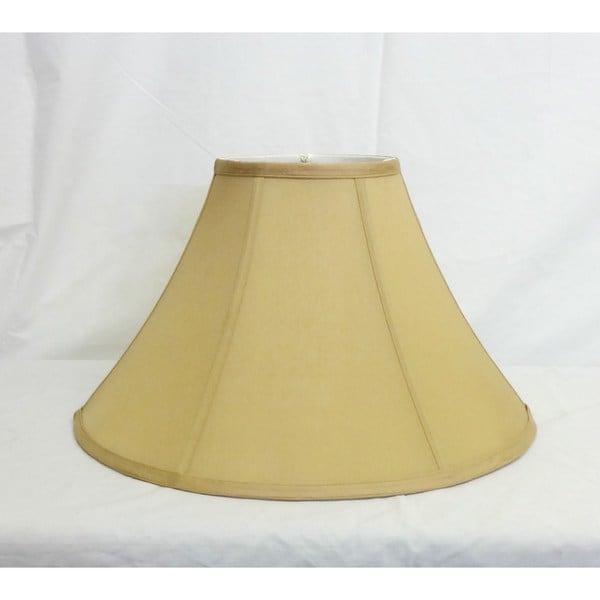 Round Light Gold Silk Shade