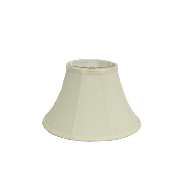Round Bell Cream Silk Shade