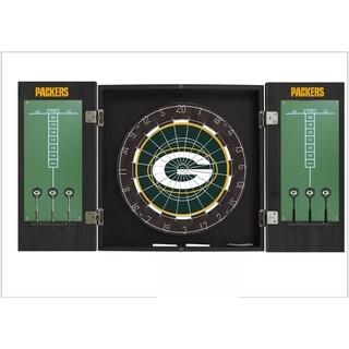 Official Licensed NFL Football Extreme Fan Dart Game Cabinet Set