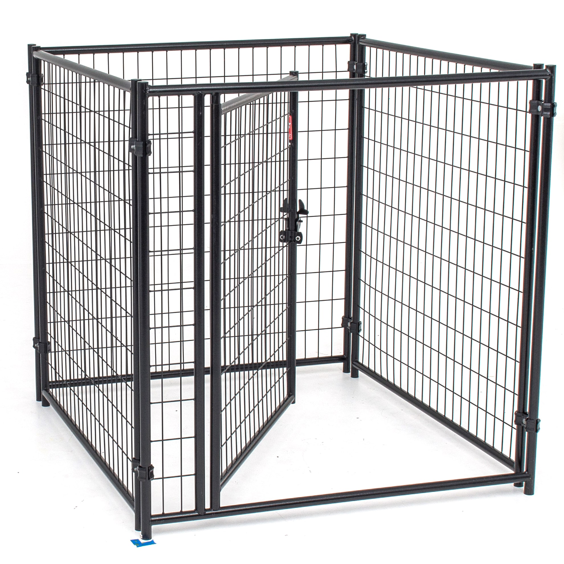 Lucky Dog 4-foot Modular Welded Steel Wire Dog Kennel Kit...
