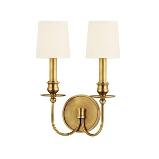 Hudson Valley Cohasset 2-light Wall Sconce